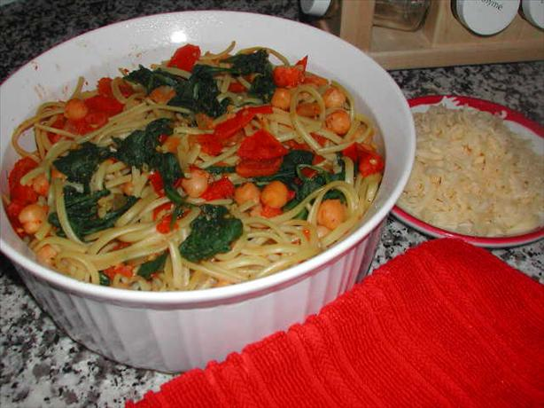 Chickpea Cassoulet with Tomatoes and Chard