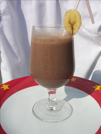 Cocoa Banana Smoothie (fat Free)