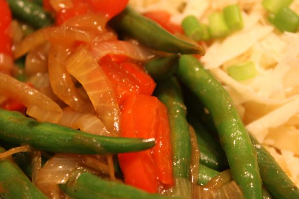 Spicy Green Bean Saute