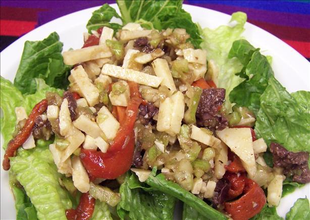 Insalata Di Formaggio - Cheese Salad
