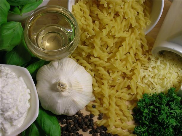 Creamy Pesto Pasta Italiana