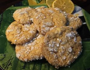 Easy Cakemix Lemon Cookies