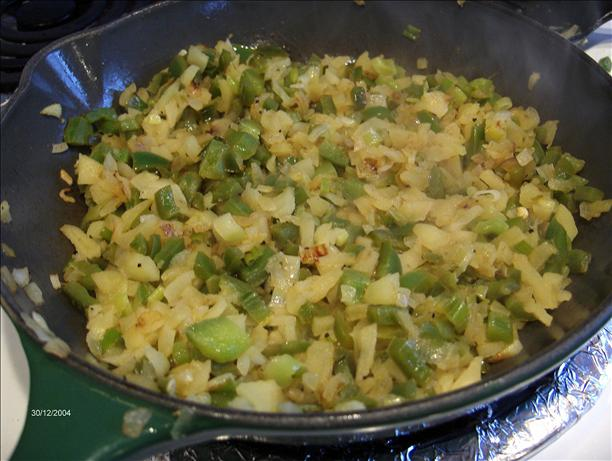 Sauteed Apple, Onion N' Bell Pepper