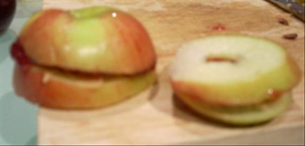 Peanut Butter and Jelly Apple Sandwiches