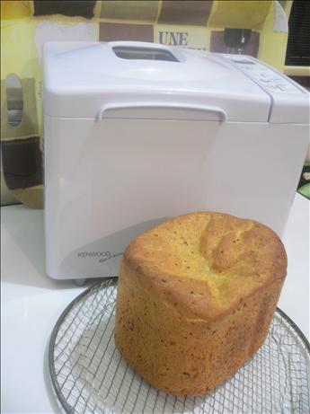 Bread Machine Cheddar Olive Bread
