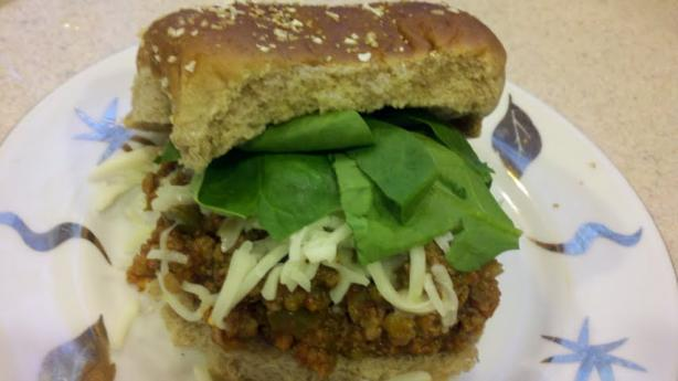Crock Pot Italian Sloppy Joes