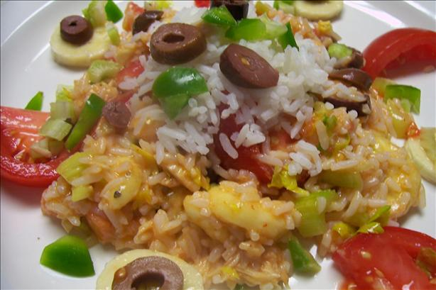 Salade De Riz Madame Bequette(French Rice Salad)