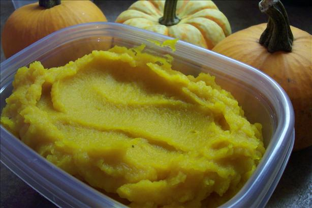 Cooked Pumpkin [native America]