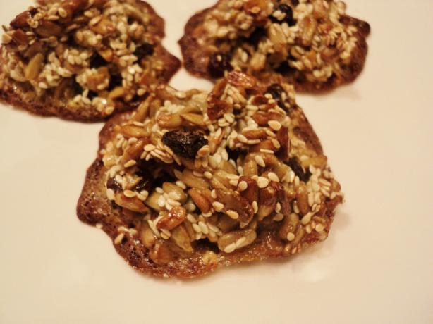 Muesli Cookies (No Flour, Just Seeds)