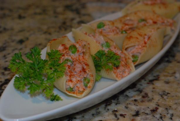 Stuffed Tuna Salad Shells
