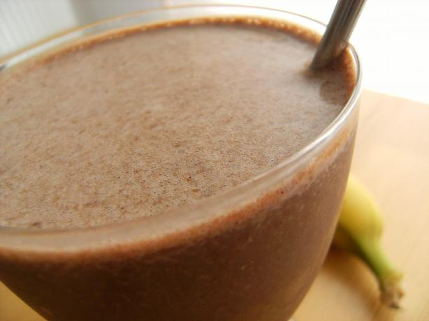 Banana and Chocolate Shake