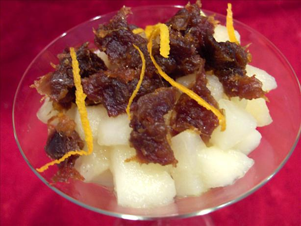 Apple & Pear Compote With Dates (For 1)