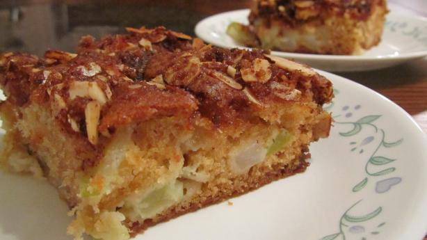Apple-Pear Coffee Cake