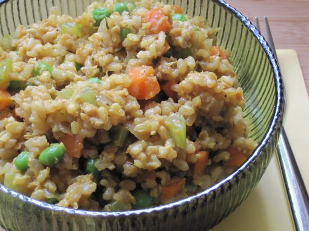 Veggie Fried Rice (Vegan)