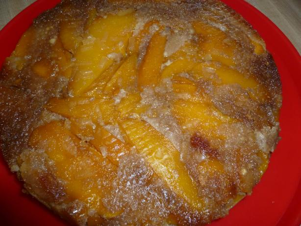 Mango Ginger Upside-Down Cake