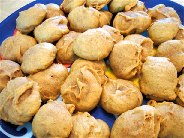 Pumpkin Cookies As Created by Ms. Ash