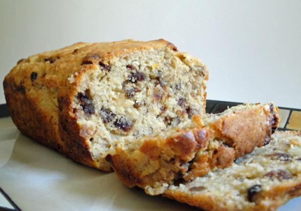 Banana Walnut and Date Loaf