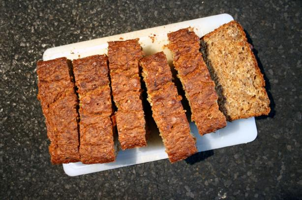 Banana-Apple Bran Loaf