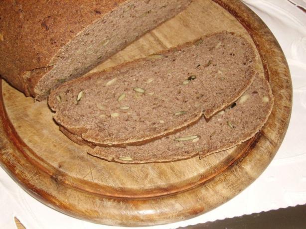 Gluten-Free Buckwheat Millet Bread