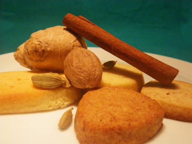 Selection of Spiced Tea Cookies