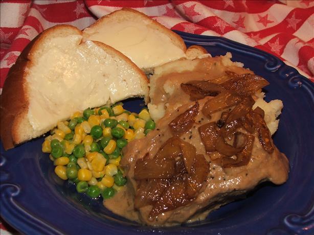Yummy Round Steak With Rich Gravy