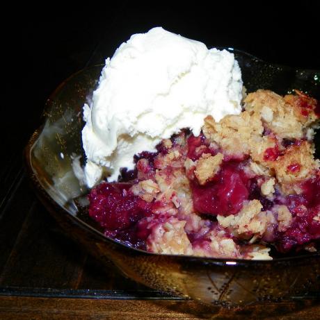 Summer Berry Crisp