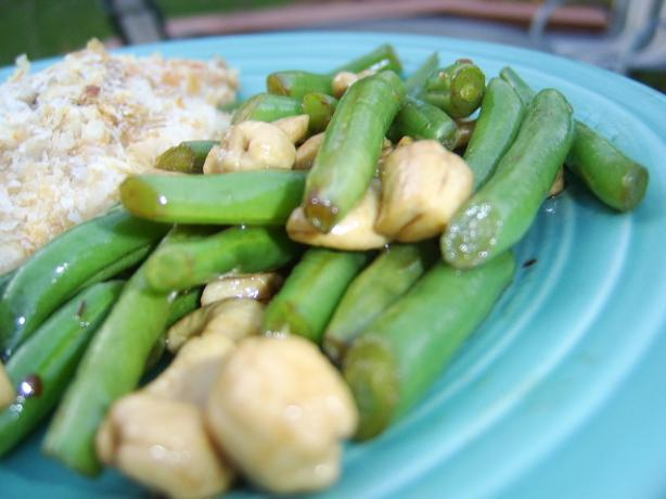 Green Beans and Cashews