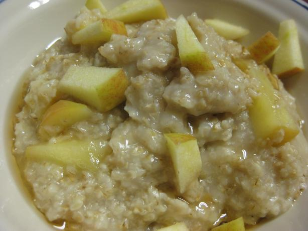 Maple Apple Almond Oatmeal