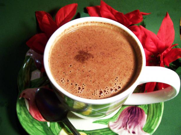 Spiced Hot Dark Chocolate