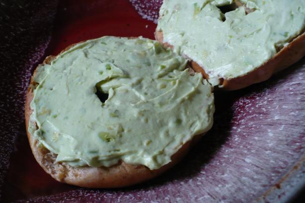 Avocado Cream Cheese Spread
