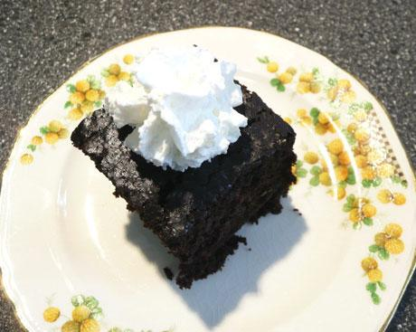 Mrs. Scott's Chocolate Vinegar Cake