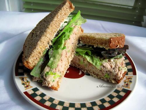 Reduced Fat Tuna Salad