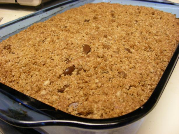 Chocolate Peanut Butter Streusel Cake