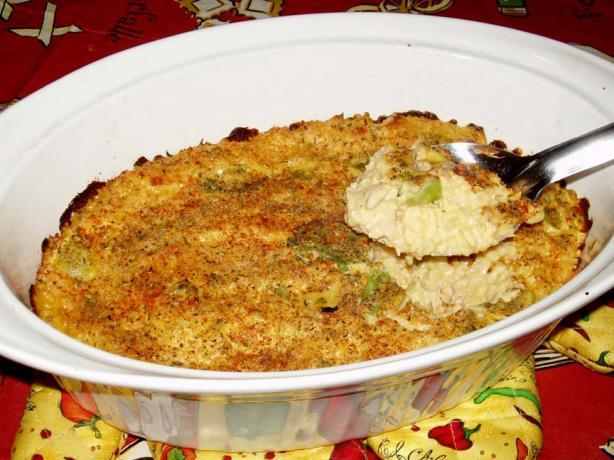 Grandma's Chicken Rice Casserole