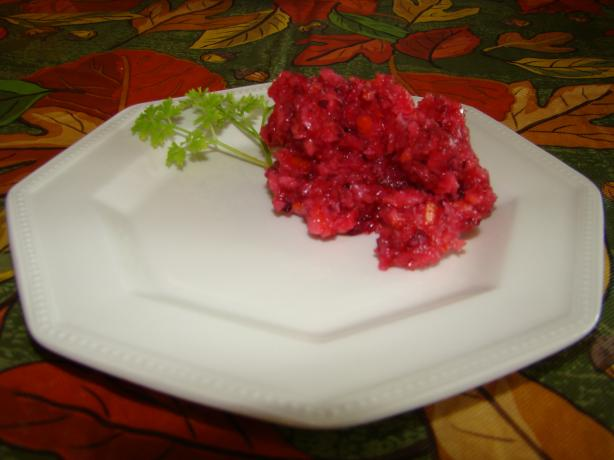 Grandma's Cranberry Relish