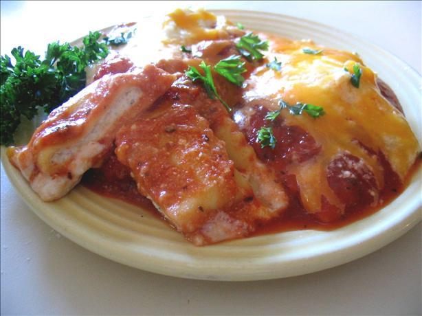 Ravioli Lasagna With Ricotta