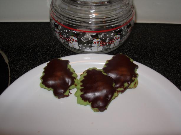 Chocolate Luster Glaze