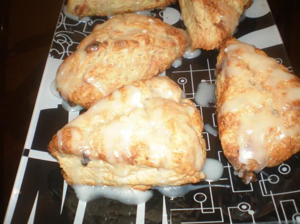 Scones With Leftover Cranberry Sauce