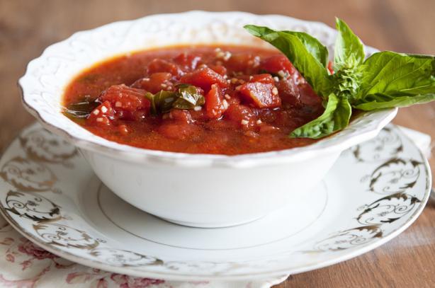 Chef's Tomato Basil Soup