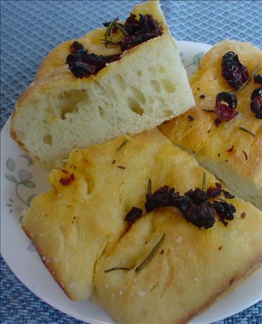 Sun-Dried Tomato and Herb Focaccia
