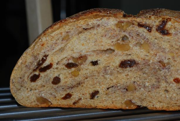 Maple Walnut Sourdough Bread