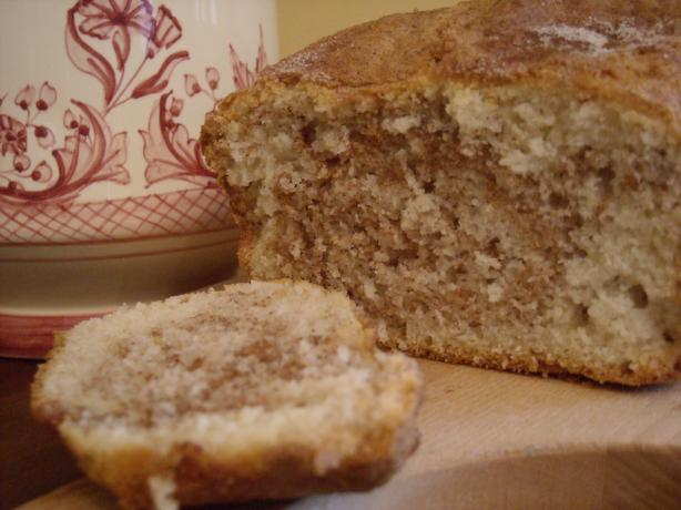 Marbled Cinnamon Sugar Quick Bread