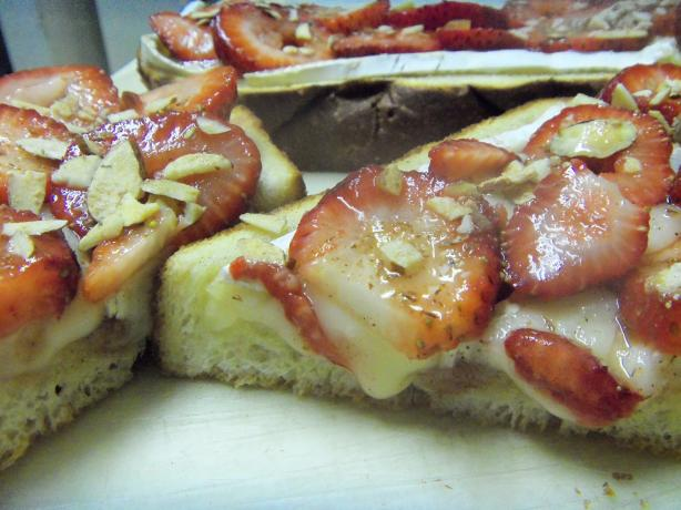 Strawberry-Brie Bruschetta