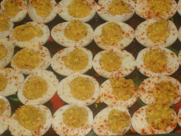 The Real Deal Deviled Eggs