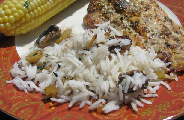Mediterranean Herbed Rice