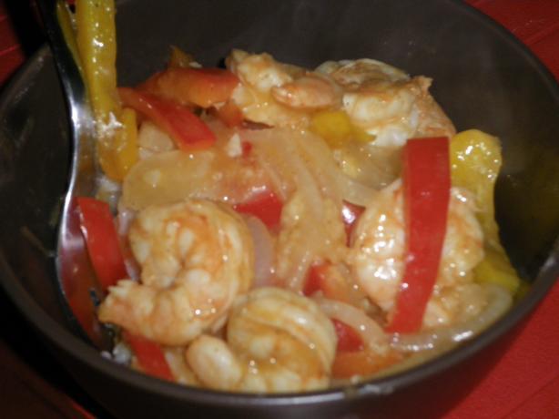 Cajun Shrimp Stir Fry