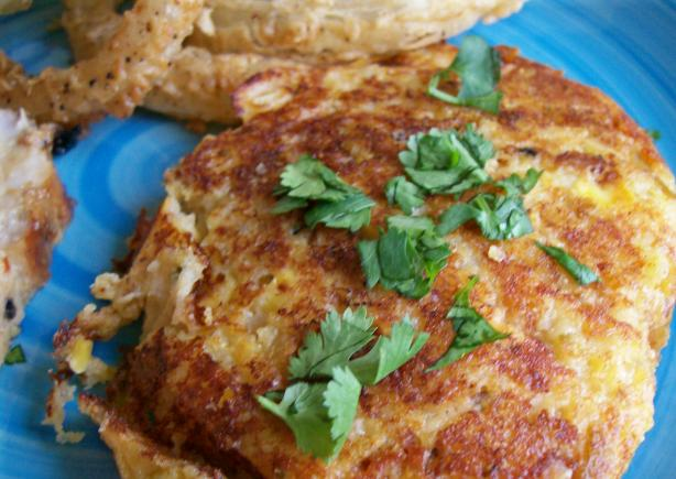 Mexican Potato Corn Cakes
