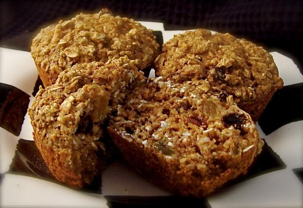 Healthy W.w Oatmeal Raisin Muffins