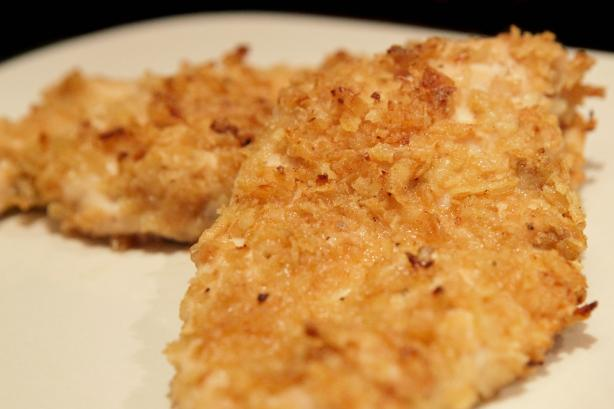 Easy Onion Crusted Chicken Breasts
