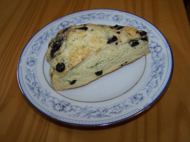 Dried Blueberry Almond Scones